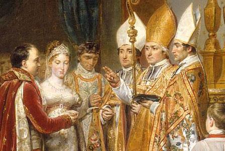 Mariage Marie Louise et Napoleon