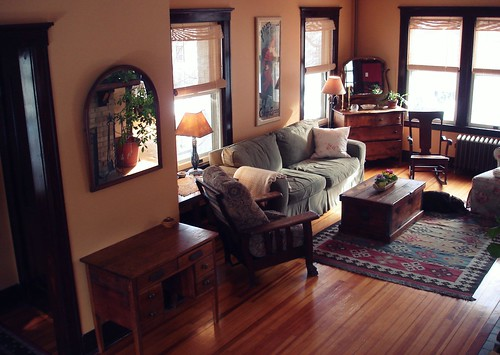 Beauty That Moves Home Tour Entry And Living Room