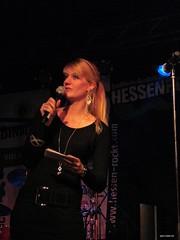 Hessen rockt 2010 - Moderatorin