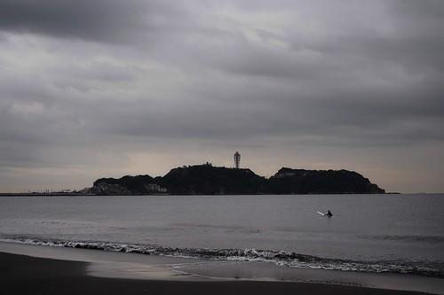 江ノ島まで泳ぐ!