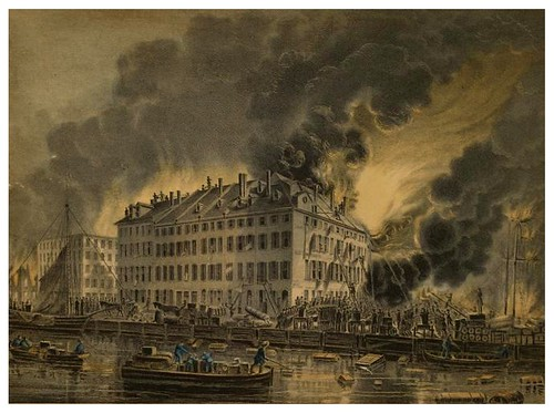 027-Vista del gran incendio de New York en 1835-The Eno collection of New York City-NYPL