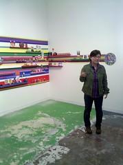 Jiha Moon artist talk at Saltworks