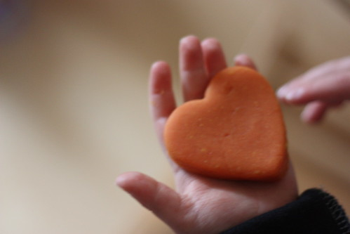 play dough heart