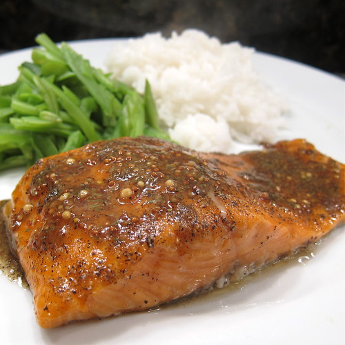 #55 - Brown Sugar Roasted Salmon