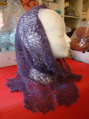 Puprle Ice Queen Cowl