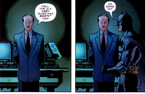 I love all Bruce and Alfred interactions