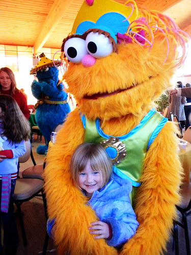 Pictures with Sesame Street Characters