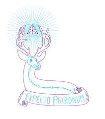 tattoo project (Many Mc Queen) Tags: tattoo project potter cerf tatouage graphisme hayy expecto patronum