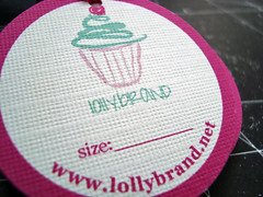 lollybrand hang tags (girl's line)