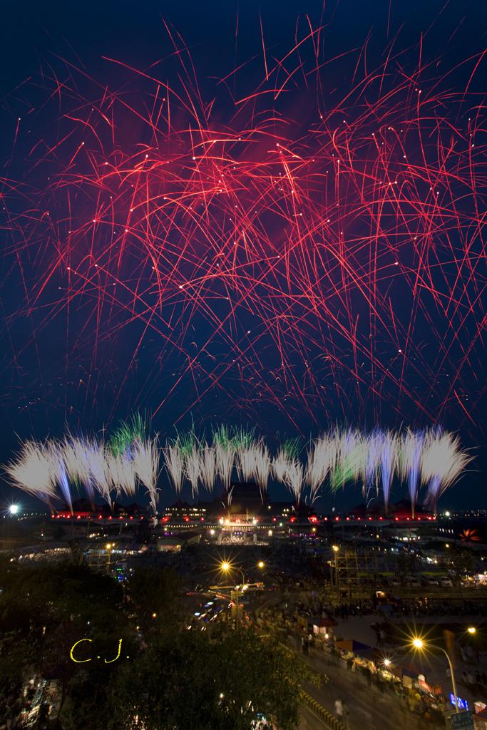 2010_02_28_台南鹿耳門聖母宮燈會煙火