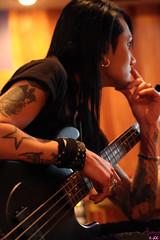 Ashley Purdy - Studio (sammi.doll) Tags: music andy rock studio album ashley gothic band purdy six recording fuchs bvb screamo sixx alvarenga ashleypurdy jinxx blackveilbrides andy6 sandraalvarenga jakepitts