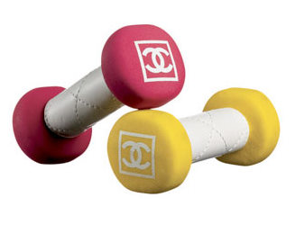 chanel-neoprene-dumbbells