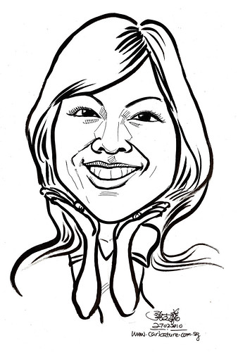 Caricature for K C Dat - Kathy