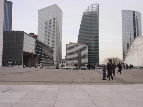 La Defense skyscrapers