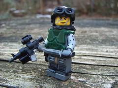 Modern Combat Soldier 2 (The Chef!) Tags: modern lego custom modification weapons moderncombat brickarms modernwarfare brickforge