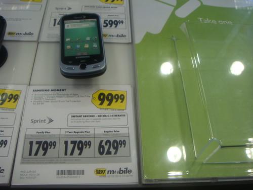 Samsung Moment Price