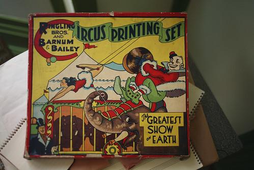 Circus Printing Set