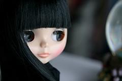 68/365 Satsuki gazes into her crystal ball