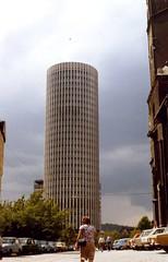 Jena University Tower, DDR  1989