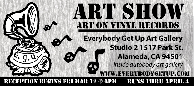 Art Show, Vinyl Records, EGU
