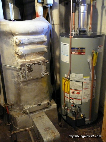 New Water Heater Old Boiler
