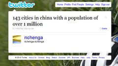 143 cities in china