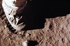 Huella de Buzz Aldrin