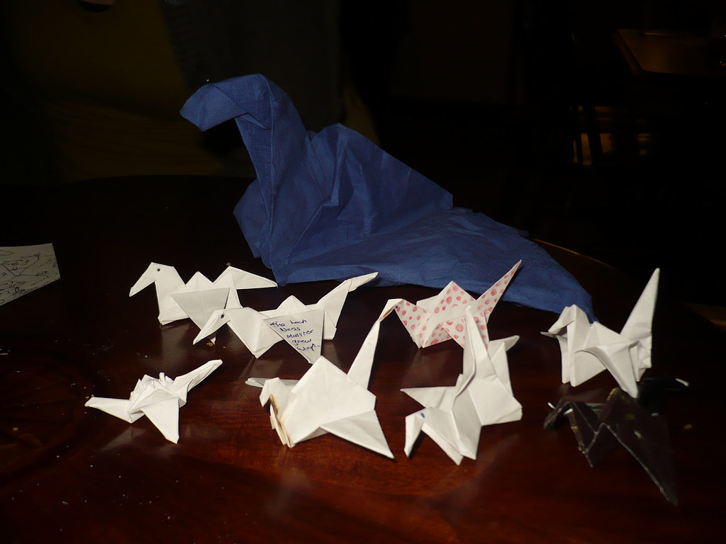 Origami army