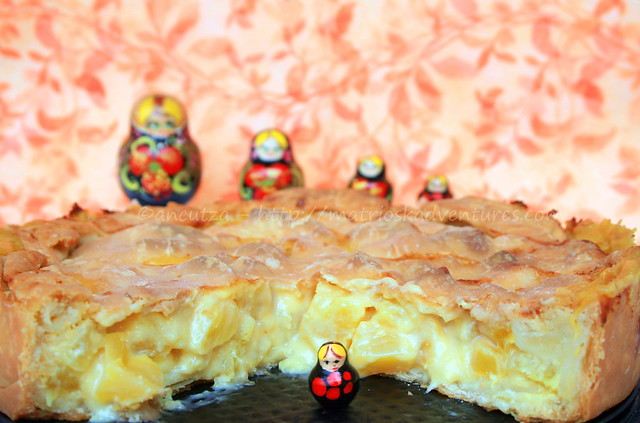 foto immagine Crostata con ananas e mango