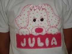 Patch colagem - Cachorrinha (jo artmanha) Tags: camisetascustomizadas camisetadepatchwork