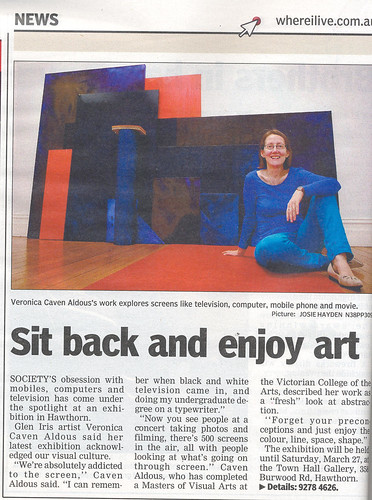 Veronica article Progress Leader March 16 2010