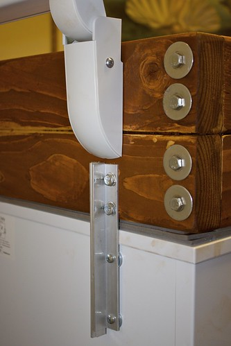 Kegerator: Construction Detail & Hinge Mount