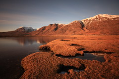 A Torridon View. (Gordie Broon.) Tags: longexposure winter snow mountains nature reflections landscape geotagged photography scotland scenery alba scenic escocia highland annat schottland torridon westerross ecosse munro liathach westernhighlands beinnalligin nd110filter platinumphoto torridonvillage snowcappedhills canoneos40d theunforgettablepictures saariysqualitypictures gordiebroon