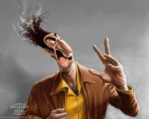 Cosmo Kramer Caricature