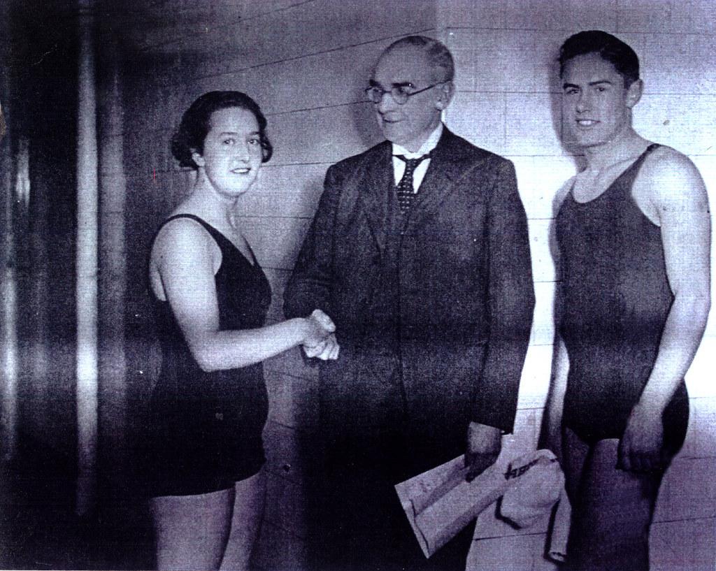 Jean Woodburn and Donny McGregor, 1938.