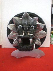 Tire Art Trophy (mo_metalart) Tags: sonderanfertigung tireart individuellepokale artoutoftires kunstausreifen creatingtrophy recyclingrubberart pneuart artedelneumático artdepneus