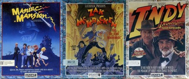 LucasArts Games 01