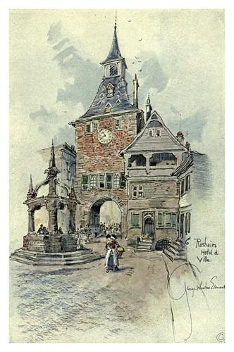 016- Ayuntamiento de Rosheim-Alsace-Lorraine-1918- Edwards George Wharton
