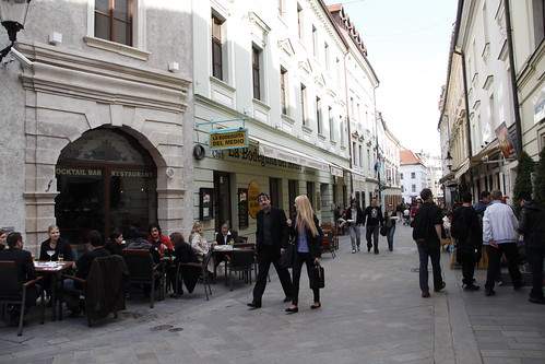 Cafes at the street