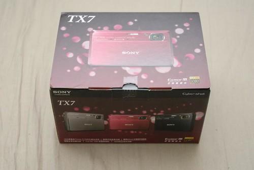 SONY Cyber-shot DSC-TX7 外箱