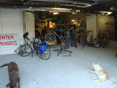BikeSauce Work Space