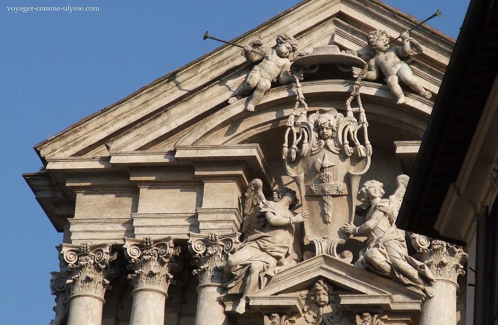 Petites anges de Santi Vincenzo e Anastasio a Trevi