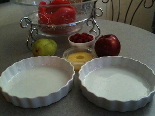 Pita Fruit Pie Step 1