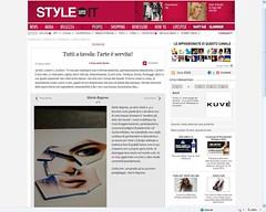 Articolo su Style-Glamour-Vanity Fair