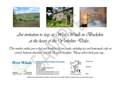 West Winds Bed and Breakfast gift voucher