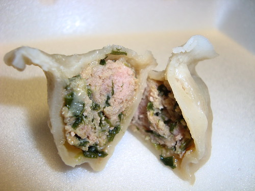 Pork and Leek Dumpling @ Dumpling Station
