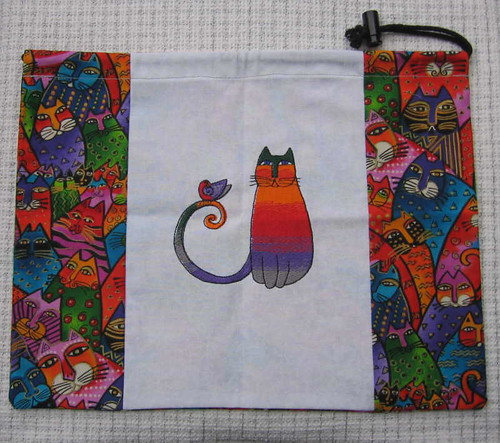 Whimsical project bag