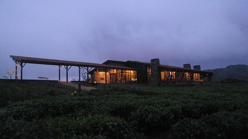 The main lodge with restaurant, and lots of cozy fireplaces.