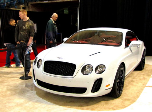 Bentley Continental 2011 at Vancouver International Auto Show