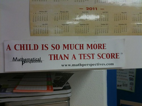 A child is so much more than a test score